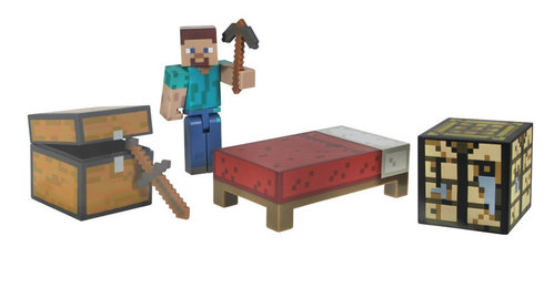 Minecraft figuuri - Steve survival pack