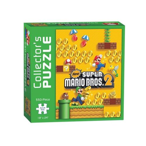 Nintendo Super Mario palapeli - Collector´s Puzzle New Super Mario Bros. 2