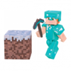 Minecraft figuuri - Alex with diamond armor