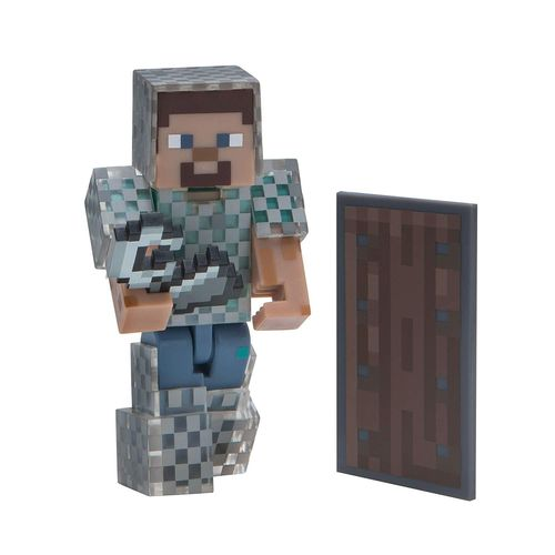 Minecraft figuuri - Steve with chain armor