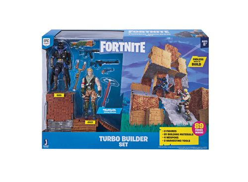 Fortnite leikkisetti - Turbo Builder Playset with Figures