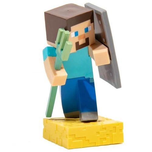 Minecraft Adventure Figure Steve with Trident